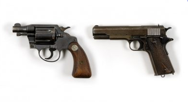 Guns owned by Bonnie and Clyde