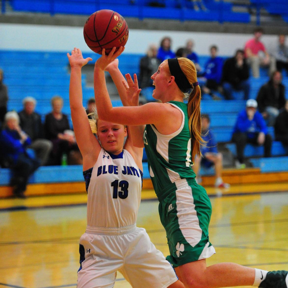 Girls Basketball — New Haven at Washington