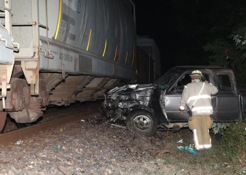 Truck Hits Train 2