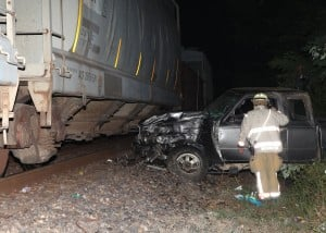 Truck Hits Train 2