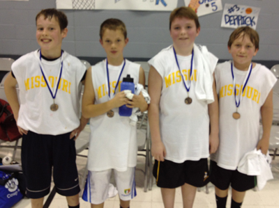 Third-Place Team for Fifth-Grade Boys