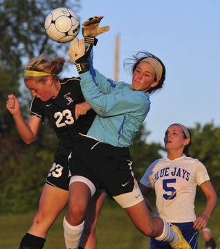 Zumwalt West Tops Lady Jays on Penalty Kicks
