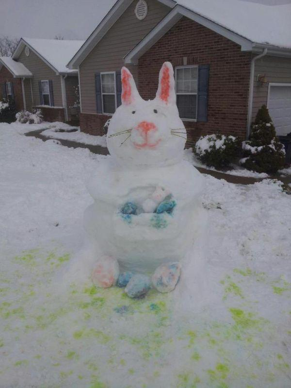 Snow Day Bunny