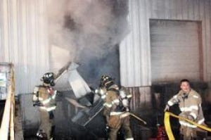 Crews Battle Blaze