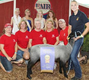 Top Lamb Brings $3,225