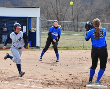 Jefferson Sweeps ECC Softball