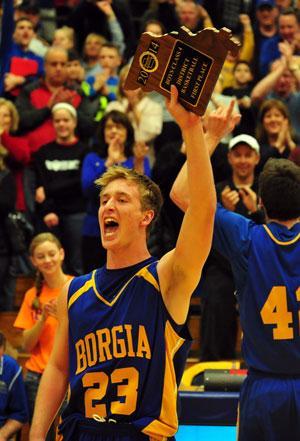 Borgia Wins Title