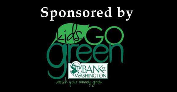 Kids Go Green Bank of Washington Gallery Sponsor 2013