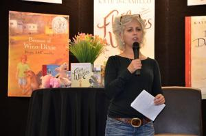 """""""DiCamillo Gives Inspiring Presentation to a Packed House"""""""