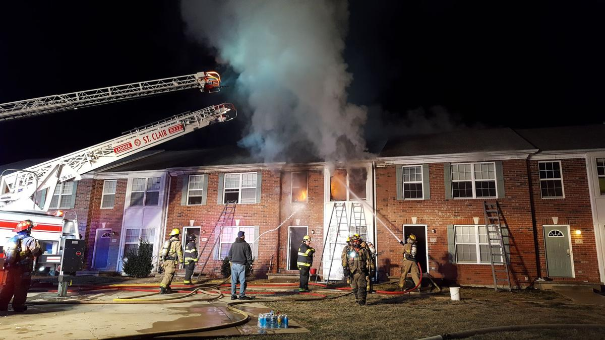 UPDATE: Crews Fight Apartment Fire in Union Sunday