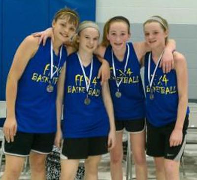 Second-Place Team for Seventh- and Eighth-Grade Girls