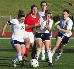 Union Tops Borgia for District Girls Soccer Title