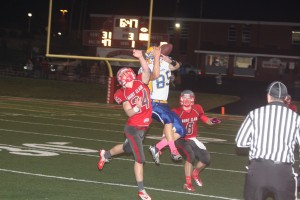 St. Clair Rolls Past Borgia