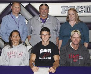 Pacific's Bowers Signs to Run on Maryville University Track Team
