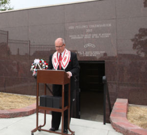 Columbarium Dedicated