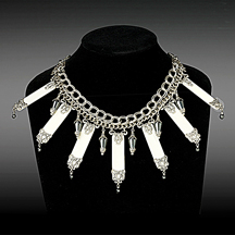 Necklace With Piano Keys
