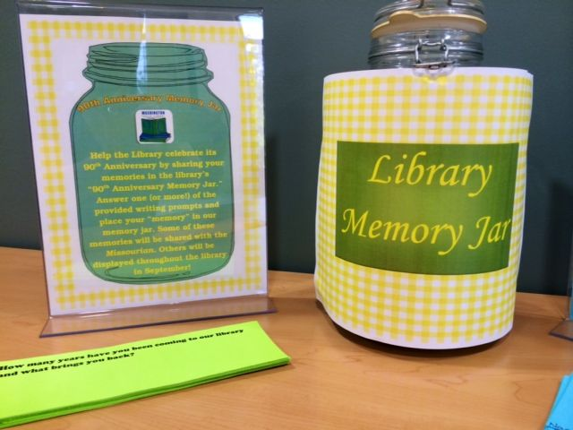 Let's Stuff The Library Memory Jar
