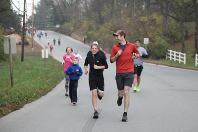 Y's Turkey Day Run 2012