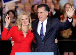 Ann & Mitt Romney