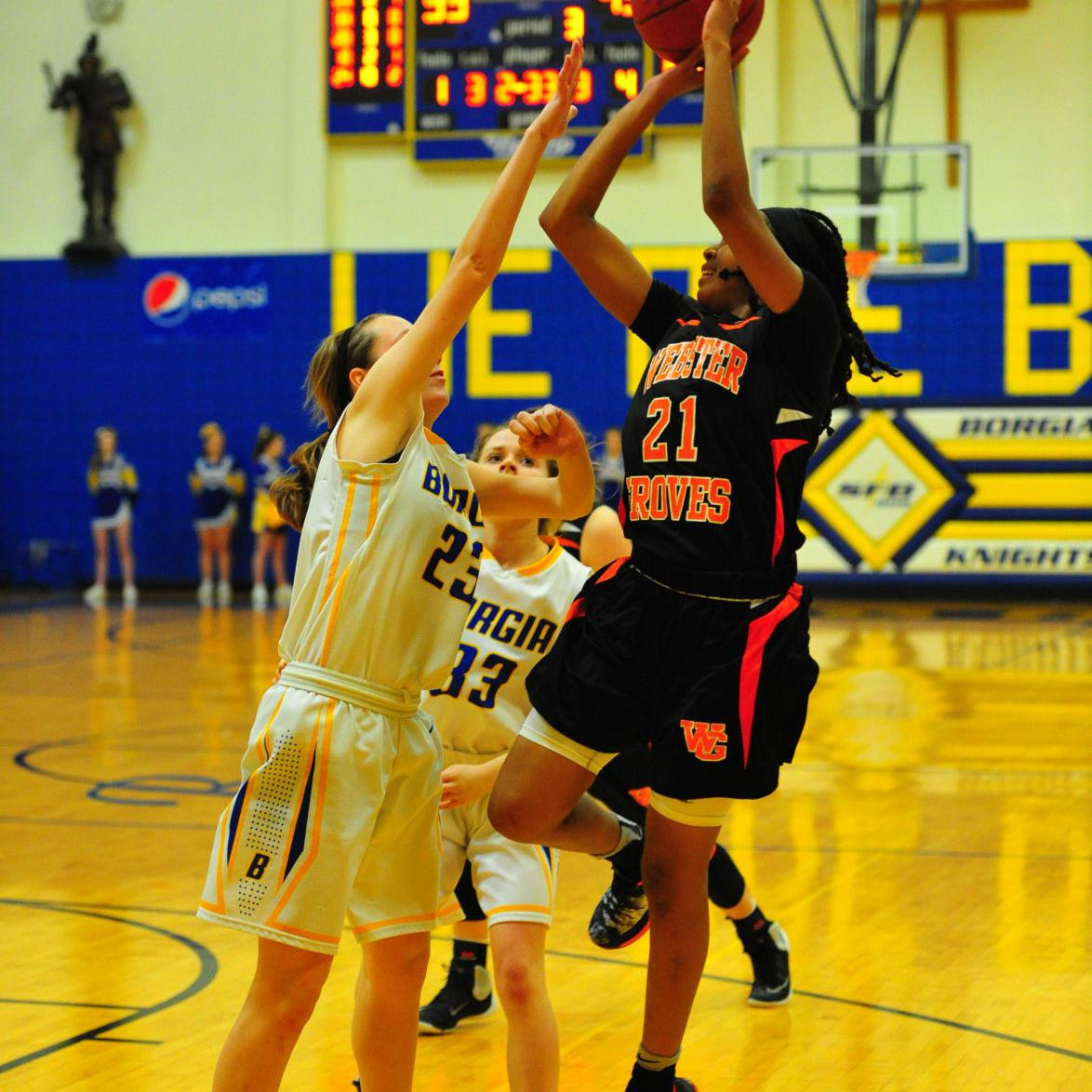Girls Basketball — Borgia vs. Webster Groves