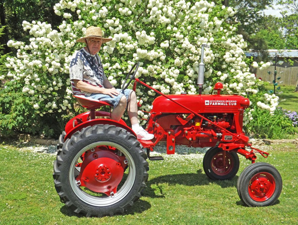 Seat For Farmall Tractor : A dream come true limestone man restores ' farmall cub