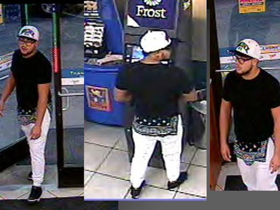Man caught attaching skimming device to Pecan Grove ATM