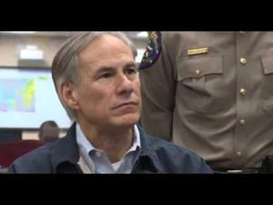 Governor Abbott Delivers Press Conference On State Of Disaster In Texas Counties