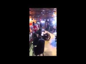 Couple assault a peace officer at a Z-bar in Richmond