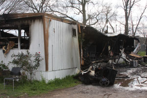 Fire destroys second home in 3 days