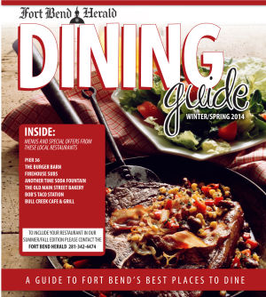 Fort Bend Herald Dinning Guide