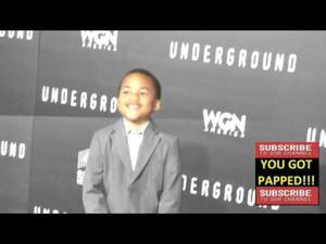 Maceo Smedley at the WGN America's Underground World Premiere at Ace Hotel in Los Angeles