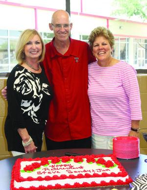 Terry High teachers Sandy Guidry, Jan Payne and Steve Seelhammer retire