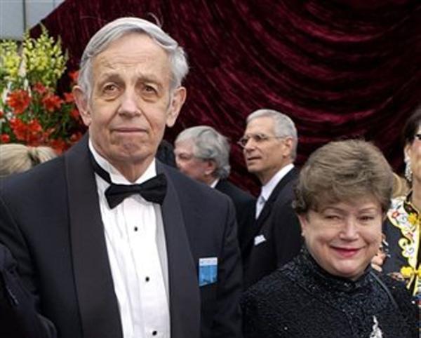 'A Beautiful Mind' mathematician John Nash and wife killed in crash