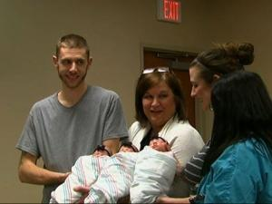 Texas Parents Bring Home Rare Newborn Triplets