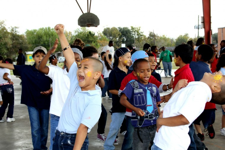 Field Day at Seguin Elementary School