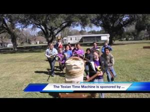 Texian Time Machine visits Beasley Elementary