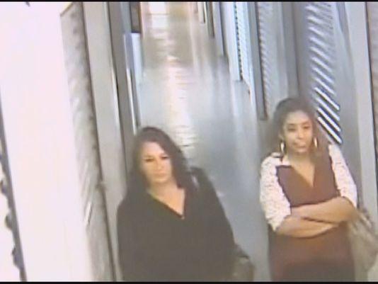 Police believe two women are behind self-storage burglaries