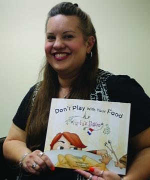 <p>Williams Elementary School teacher Cheryl Richardson published her first children's story, 'Don't Play With Your Food, Fu-Fu's Bistro,' in August of 2015. Richardson goes by Giddy Gragert as an author.</p>