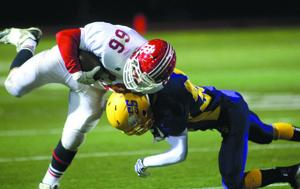Red Jacket vs. Clyde-Savannah football 1