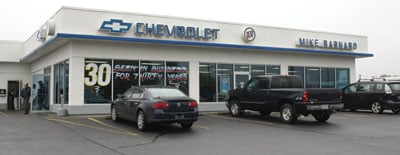 Business Of The Week Mike Barnard Chevrolet Buick News