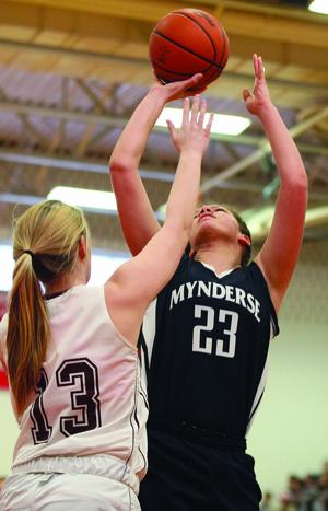 Mynderse vs. Cal-Mum girls basketball