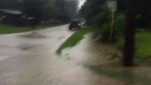 Raw: Tampa Area Drenched by Rain
