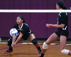 Waterloo girls volleyball