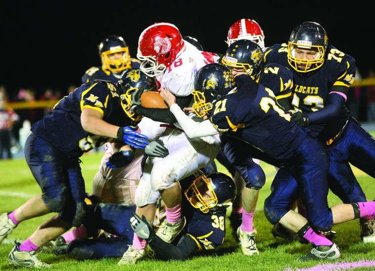Red Jacket at Marcus Whitman football