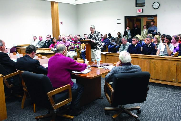 City budget hearing