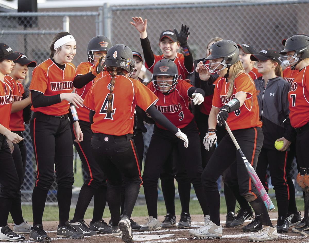 Waterloo, Mynderse softball rolls to wins in Class B quarterfinals