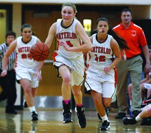 Geneva at Waterloo girls basketball