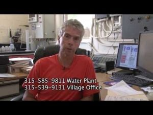 Village of Waterloo Water Plant and Water Quality