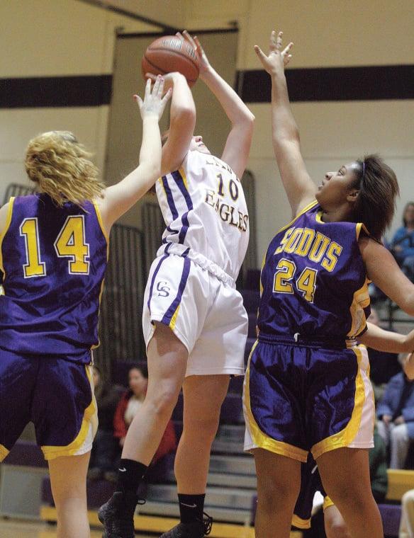 Clyde-Savannah vs. Sodus girls basketball