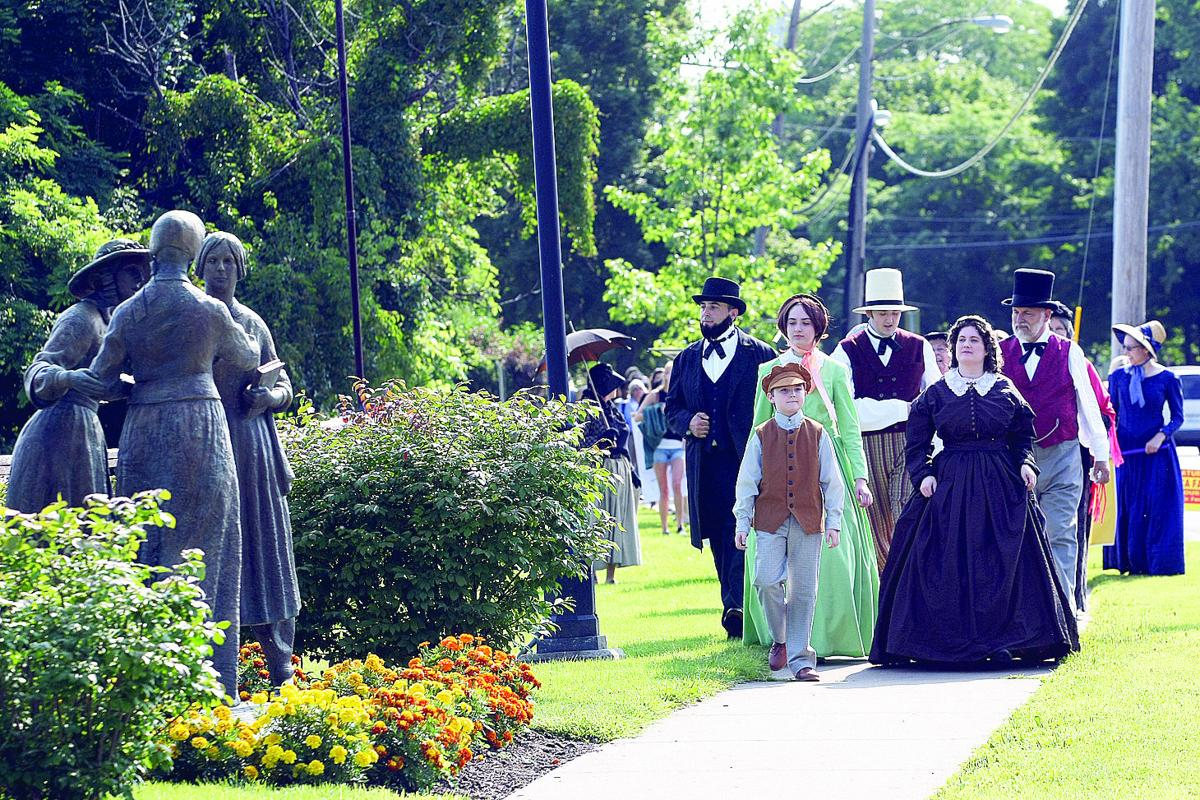 the seneca fall s convention The women's rights national historical park (nhp) has announced the 2018  convention days have been set for july 20-22 2018 will.